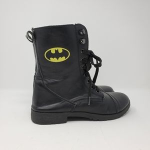 Women's Batman Bioworld Combat Boots
